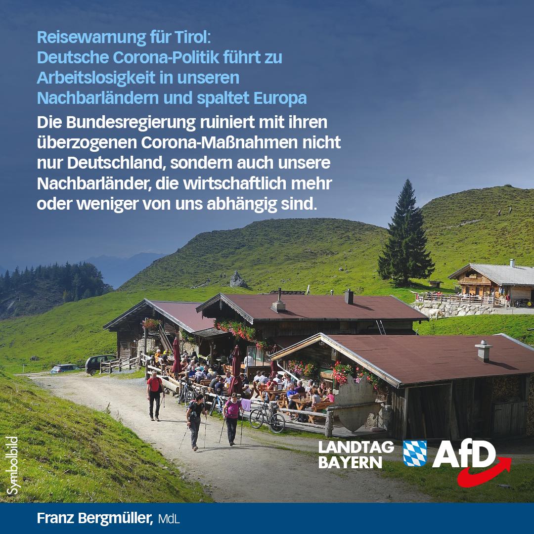 Tirol Reisewarnung